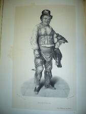 Étienne François Marie Morel dit Sainville acteur 19°
