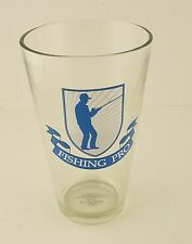 Fishing Pro Beer Glass - holds 440ml - a great gift for anglers/fishermen