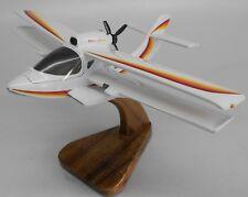 Glass Goose Quikkit Airplane Desktop Wood Model Small