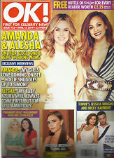 OK, FIRST FOR CELEBRITY NEWS,  APRIL, 15th 2014   ISSUE, 925 ( AMANDA & ALESHA )
