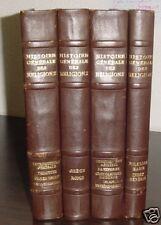 HISTOIRE GENERALE DES RELIGIONS 4 VOLUMES QUILLET 1948