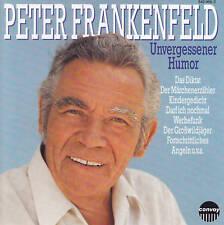 PETER FRANKENFELD - CD - UNVERGESSENER HUMOR  (Rar)