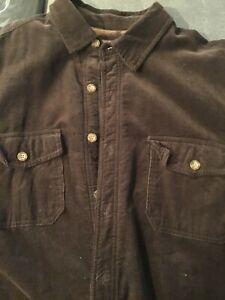 levis Shirt/jacket corduroy large dark brown