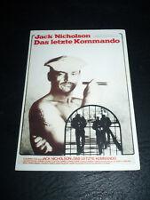 THE LAST DETAIL, film card [Jack Nicholson, Otis Young, Randy Quaid]