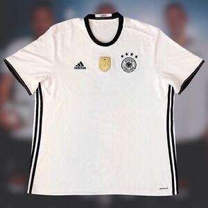 Germany 2015/16 International Home Soccer Jersey 2XL Adidas Camiseta XXL Futbol