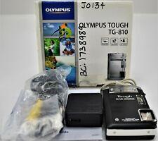Waterproof Olympus Tough TG-810 14.0MP Digital Camera - Black