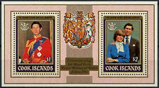 Cook Islands 1982 Royal Baby Birth MNH M/S #A90403