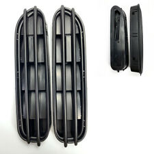 E60 M5 Style Matte Black Look Side Fender Grille Vent GM B C L L M