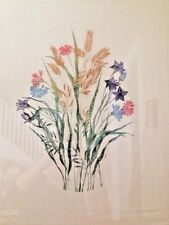 Spring Garden #2 Limited Edition Flower Engraving Jeanette Flower Art Print