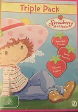 Strawberry Shortcake -Triple Pack 3-Disc Set)--REGION 4-Brand new-Free postage