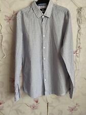 Hugo Boss Men Thin Cotton Casual Slim Fit Shirts Size L