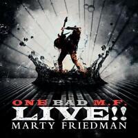 MARTY FRIEDMAN - ONE BAD M.F.LIVE!!   VINYL LP NEU