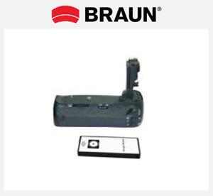 BRAUN Battery Power Grip PG-E9H - Batteriegriff für Canon EOS 60D