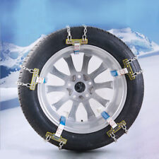 Universal Wheel Tire Snow Anti-skid Chains for Car Truck SUV Emergency Winter RX