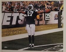 Plaxico Burress New York Jets Michigan State Autographed 16x20 Signed Photo Holo