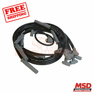 MSD Spark Plug Wire Set fits with Dodge 440 63-1964