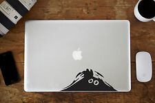 "Peeking Monster Vinyl Decal for Apple MacBook Air/Pro Laptop 11"" 12"" 13"" 15"""