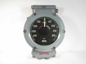 Tachometer 400RPM NOS Smiths Industrial of England Deep Sea  TMD/240/6WB/194