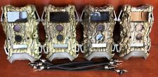 2613 Qty 4 Used Wildgame Terra 10 MP Lightsout Trail Camera TR10B37D-7