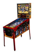 Kiss pinball machine Le signed by Kiss band members