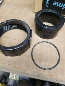 """WATERWAY 415-5000 2"""" UNION NUT AND 417-5120 2"""" SLIP UNION TAILPIECE WITH O-RING"""