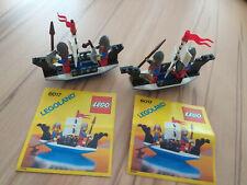 Lego Castle /Ritter 2 x 6017  komplett mit Anleitung