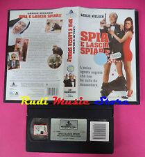 VHS film SPIA E LASCIA SPIARE Leslie Nielsen 1997 HOLLYWOOD VI 4669 (F13) no dvd