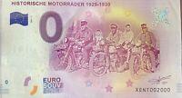 BILLET 0  EURO HISTORISCHE MORORRADER ALLEMAGNE NUMERO 2000