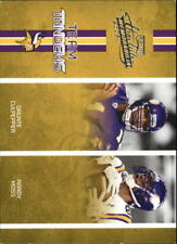 2005 Absolute Memorabilia Team Tandems Card #15 Daunte Culpepper/Randy Moss