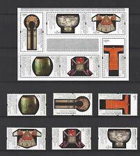 China Hong Kong 2011 Museum Collection of Hong Kong stamp set