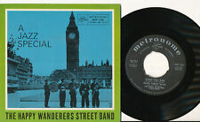 THE HAPPY WANDERERS STREET BAND EP DENMARK A JAZZ SPECIAL