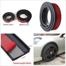 2X 4.5cm/1.5M Widening Car Fender Flare Extension Wheel Eyebrow Protector Stripe