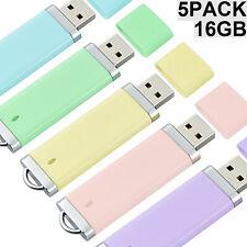 5PCS 16GB USB3.0 Flash Drives Lighter Model Flash Memory Sticks Thumb Pen Drive