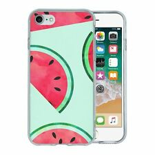 For Apple iPhone 7 Silicone Case Tropical Water Melon Fruit - S770