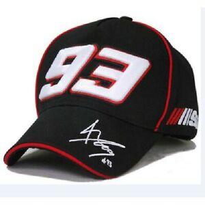 Official Marc Marquez 93 Black Cap