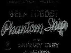 Phantom Ship aka The Mystery of the Marie Celeste 1935 DVD
