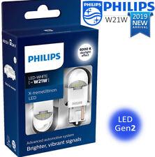 PHILIPS W21W LED T20 White X-treme Ultinon LED gen2 Car signalling Bulbs 6000 K