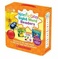 Nonfiction Sight Word Readers Parent Pack Level D: Teaches 25 Key Sight Words to