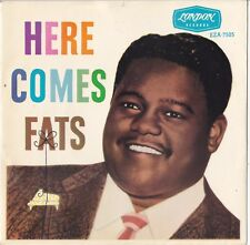 "FATS DOMINO EP: ""HERE COMES FATS""  AUSSIE  LONDON EZA 7505  C=NM  V=MINT  1958"