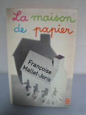 Livre - La Maison de Papier - Françoise Mallet-Joris - 1970