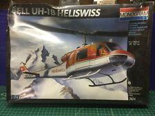 Monogram 1/24 Bell UH-1B Heliswiss Helicopter Model Kit 74014 (Sealed)