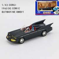 CORGI 1/43 DC Comics Batman 1960 Batmobile BMBV1 Diecast Car Model Collectible