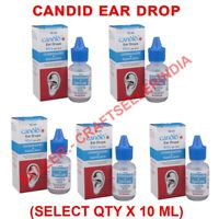 Candid Ear Drop For treatment of fungal infections in Ear 10ml - Select Qty UK