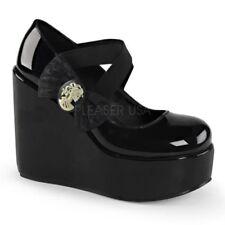 c3e3d095f377 Elastic Solid Heels for Women