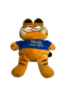"""Vintage Garfield 1978- 1981 United Fun Farm Dakin Large Stuffed Plush 29"""" Tall"""