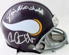 Purple People Eaters Signed Vikings 61-79 TB Mini Helmet- Beckett W Auth *PPE2