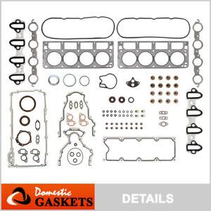 Fits 99-01 Chevrolet Suburban Tahoe GMC Sierra 4.8L 5.3L OHV Full Gasket Set