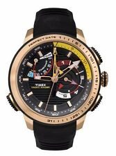 Timex Yacht Racer Men's Chronograph Sport Watch | TW2P44400 | Rose Gold/Black