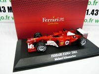 F1F2T voiture atlas 1/43 F1 Ferrari Formule 1 champion : F2004 M. SCHUMACHER