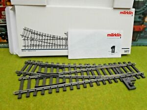 Marklin 5977 Gauge 1 Switch - OB